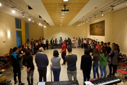 Blowing on Soul - Calabria Gospel Meeting 2016 - the Body Music Workshop
