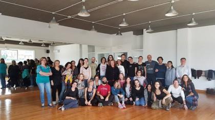 Workshop di Bodymusic per Scuola di Musicoterapia AraMagis - Catania