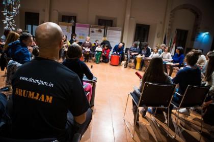 Community Drum Circle Fabriano 2017