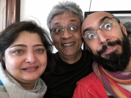 With Roberto Narain and Vasundhara Das - DrumJam India