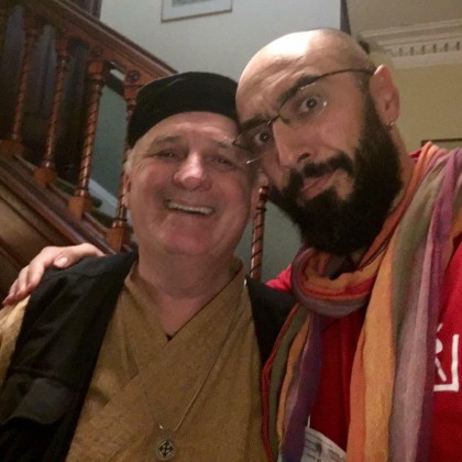 With Elf Arthur Hull - DrumCircle.com